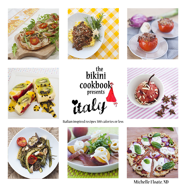 1 The Bikini Cookbook Presents ITALY cover page